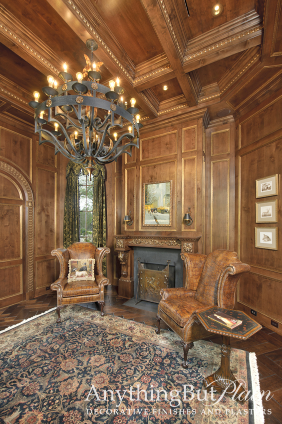 Gilded Paneling