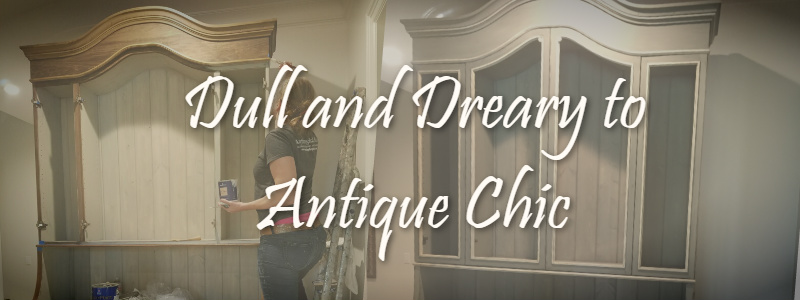 Dull & Dreary to Chic Antique