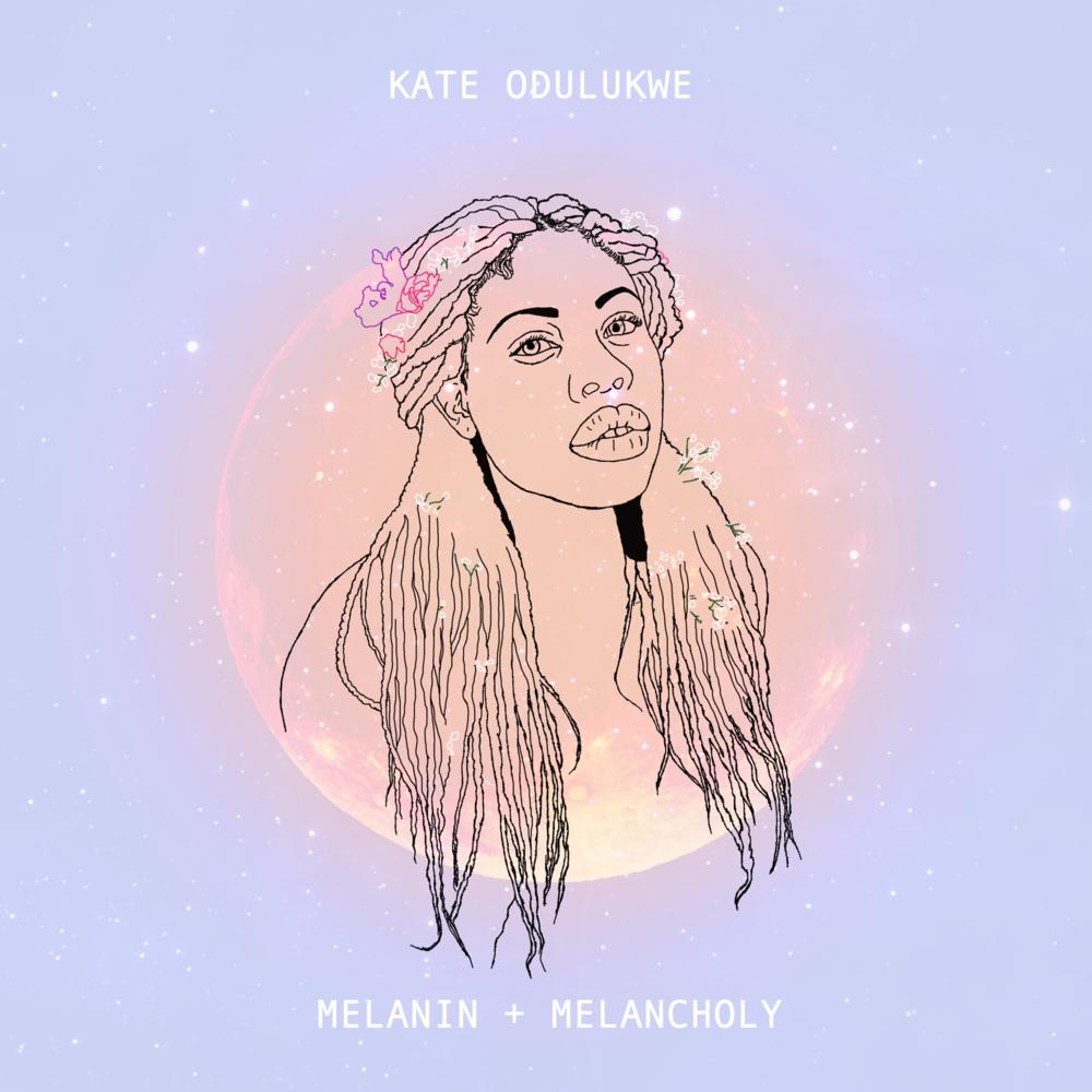 Melanin & Melancholy - EP cover artwork for Kate Odulukwe