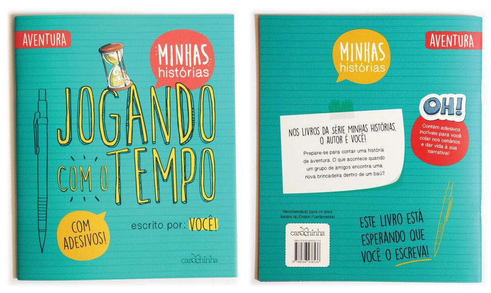 Jogando Com o Tempo - livro ifanto-juvenil / children´s book