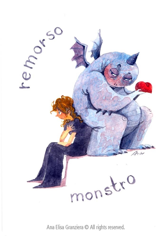 Remorso Monstro / Regret Monster