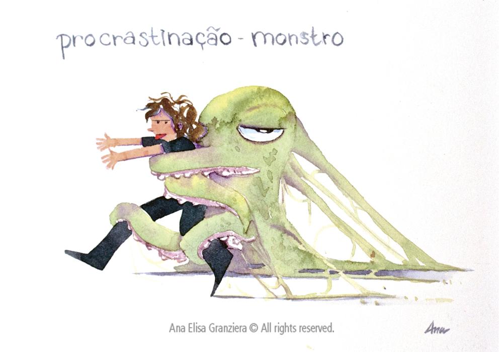 Procrastinação Monstro / Procrastination Monster