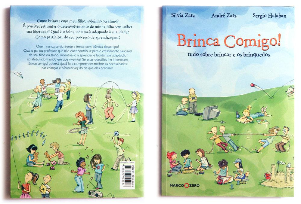 Brinca Comigo! - livro Pscicologia Infantil / Child Psycology Book