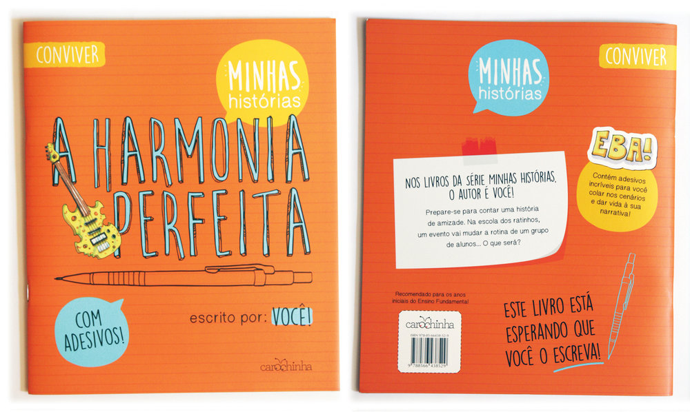 """""""A Harmonia Perfeita"""" - livro infanto-juvenil / children'sbook"""