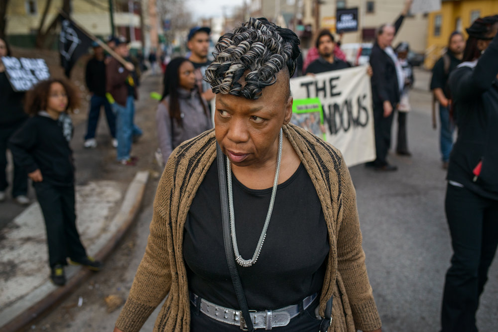 In Tompkinsville - One year after the death of Eric Garner.2015