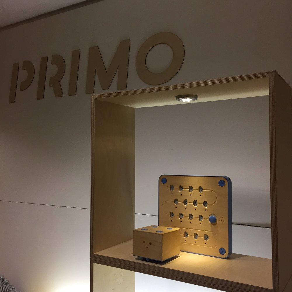 PRIMO EXHIBITION STAND - Unique and intelligent product for a unique and intelligent Toy Company