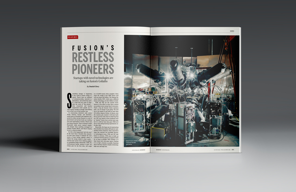 Fusion's Restless Pioneers