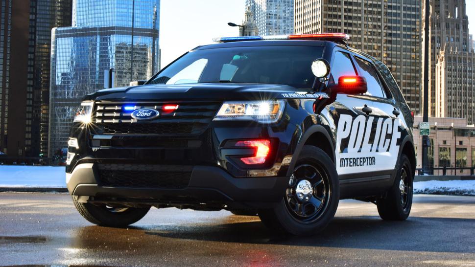 Not the real patrol car!