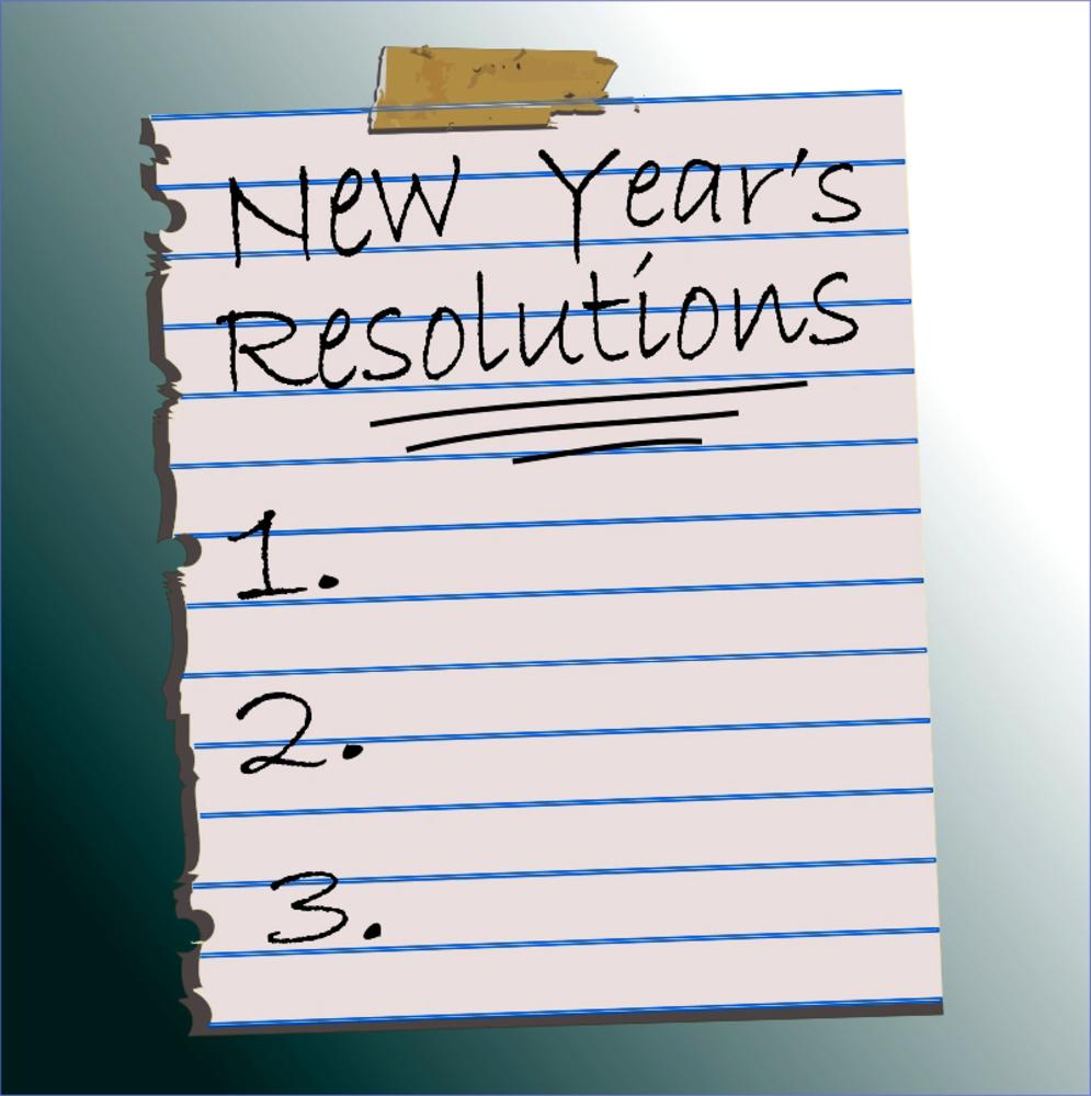 My Resolutions!!