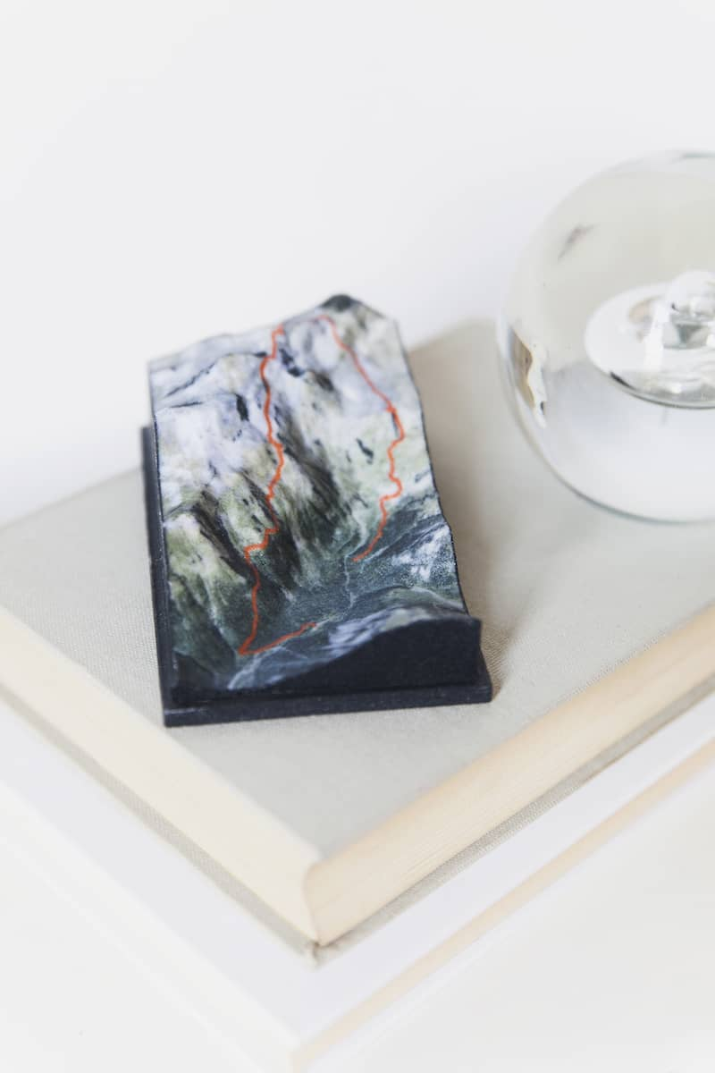how to make mountain into 3d
