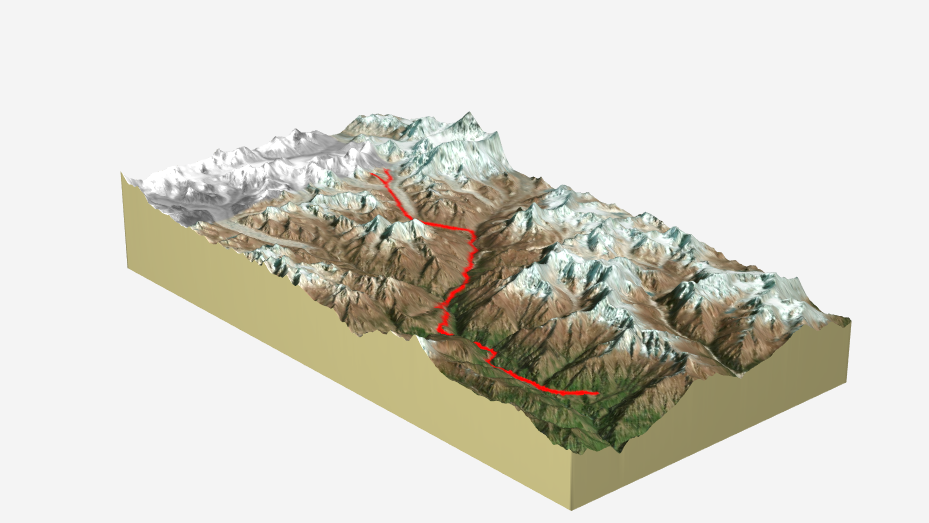 Copy of Everest Base Camp - route