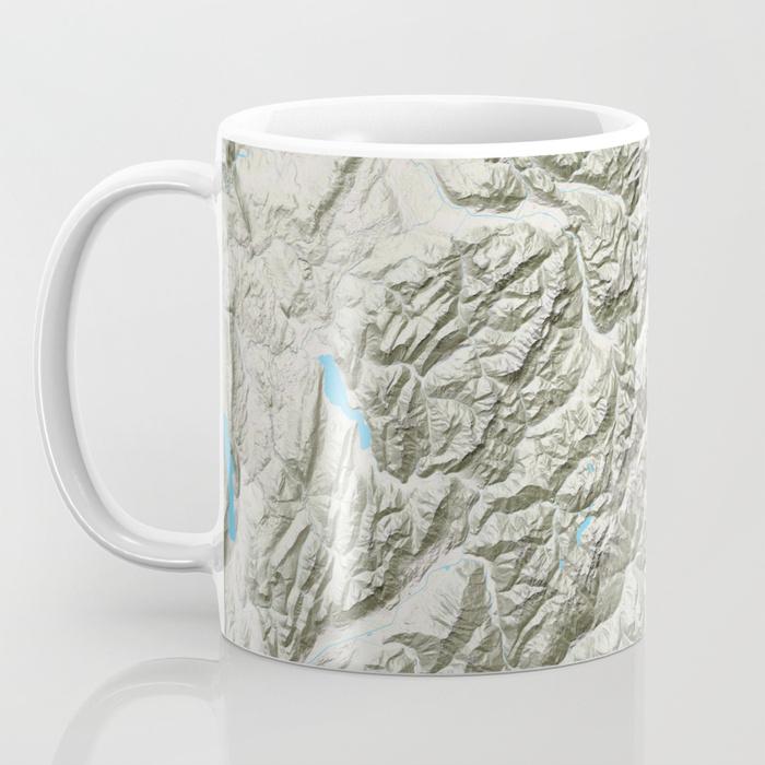 Mont Blanc - Coffee Mug - TERRAIN STYLE$16
