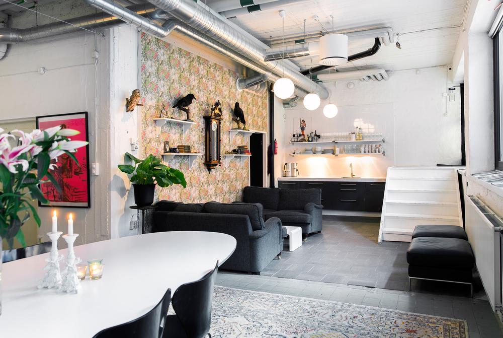 Lounge / Köksdel