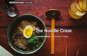The Noodle Craze Tampa Bay METRO| Photo:Seamus Payne