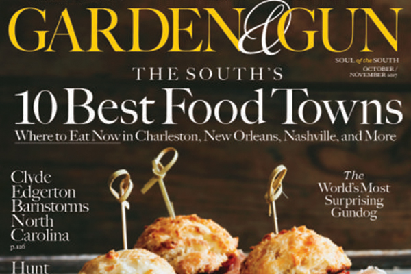 The South's Best Food Towns    Garden & Gun