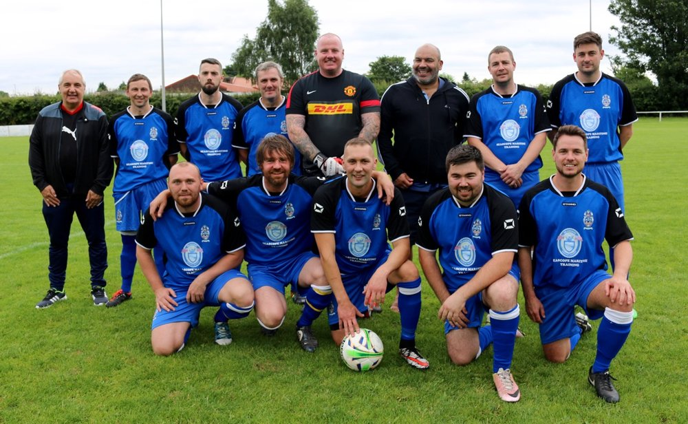 Steve Brokenbrow's XI BACK: Steve Brokenbrow (manager), Street, Smith Jnr, Smith, O'Keefe, Thommo, Cotterill, Logan FRONT: McDonagh, Martin, Hussain, Brad Brokenbrow, Brennan