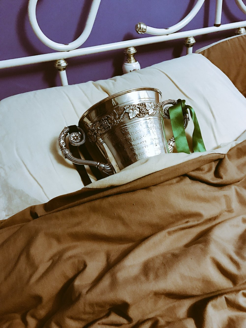 The Stockport DFA Cup: all tucked up...and ours back in May