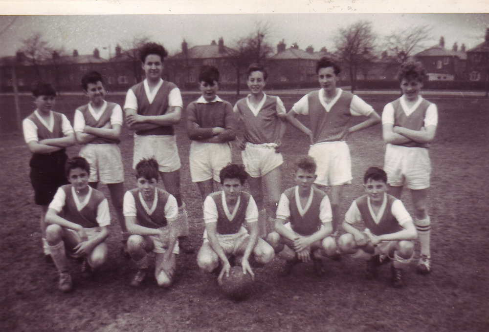 Where it all started in 1961. This is the first ever Grasmere Rovers squad. Barrie Dean - the man who asked for the team to be set up in the first place - is bottom right.