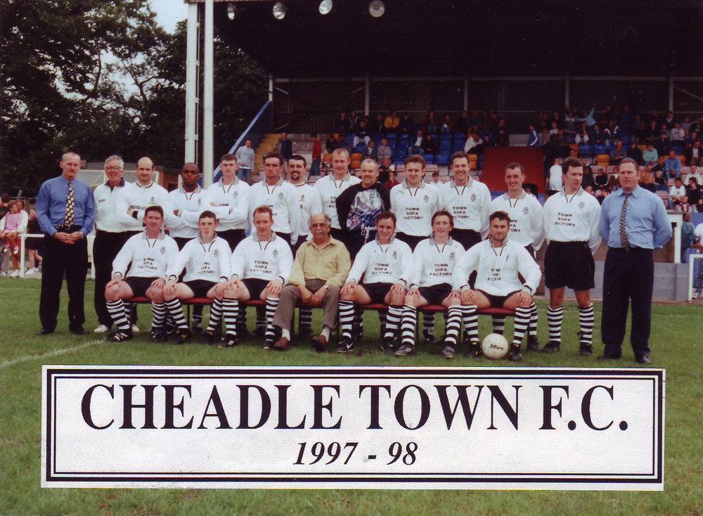 Cheadle Town FC, 1997-98