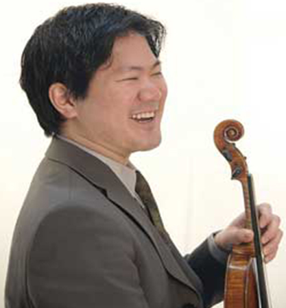Dr. Ray Iwazumi, D.M.A., Violinist