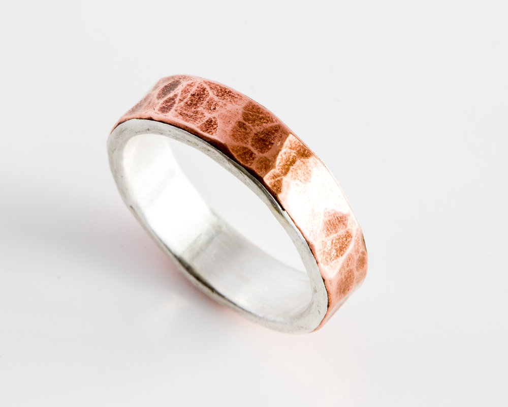 Silver Lined COpper Band