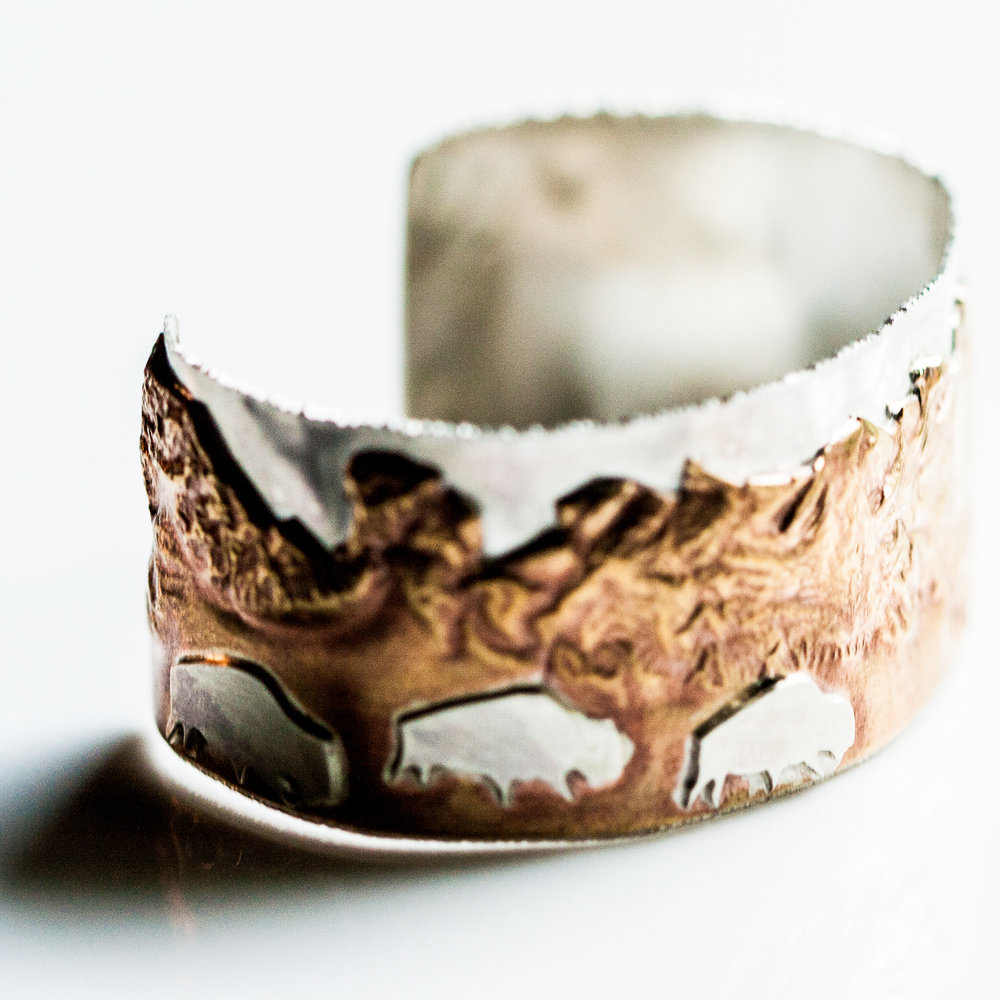 Copper Buffalo Cuff