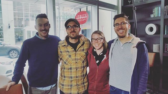 Super fun interview with Jake and Amir today #jfl42