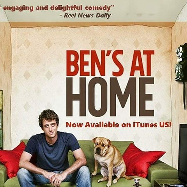 Our award winning feature @BensAtHome is now on iTunes US! https://itunes.apple.com/us/movie/bens-at-home/id1004141527  Just in time for #valentinesday  Cuddle up and watch this romantic comedy with your partner or just leave it on while making sweet sweet love.  #indiefilm #canadianfilms #secondcityto #comedy #romanticcomedy