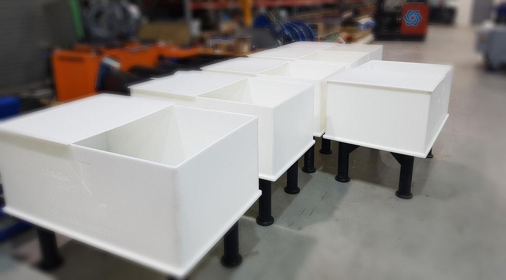 Bilder fra produksjonen.