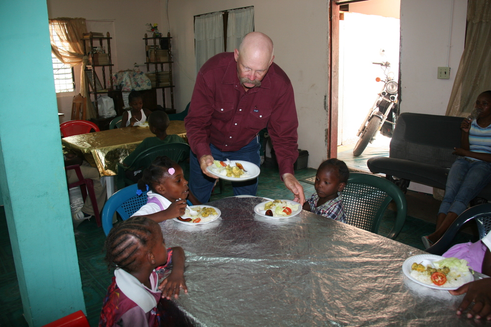 Feeding Program at House of Refuge