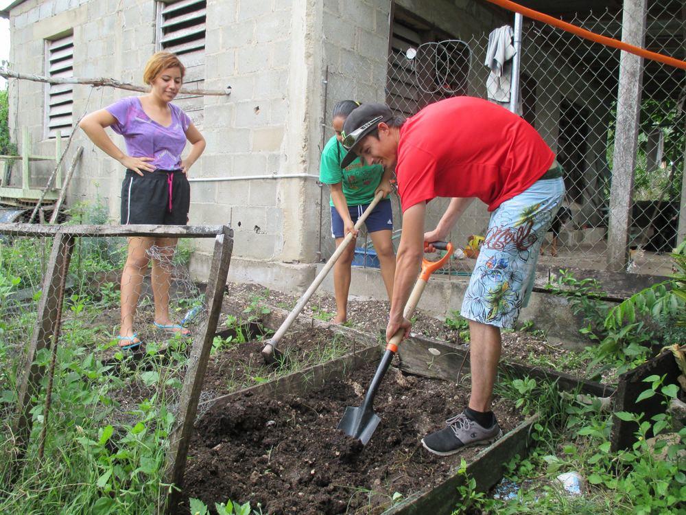 Gardens for No More Hunger Program