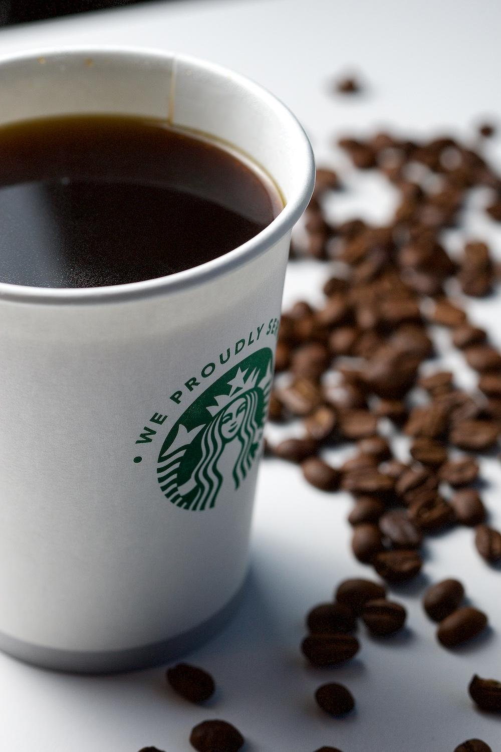 About 2,200 cups of Starbucks coffee are consumed at OptionsHouse in a typical month.