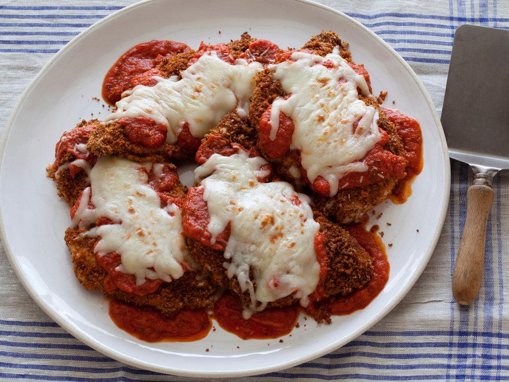 Ellie Krieger's Chicken Parmesan
