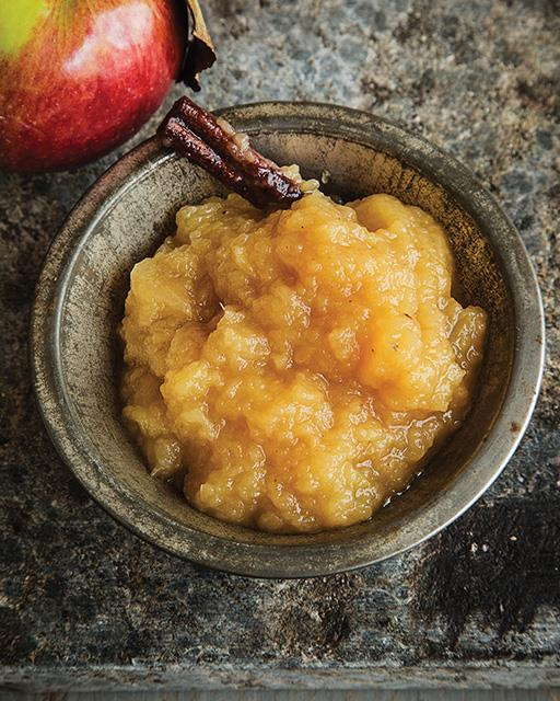 Bourbon Applesauce