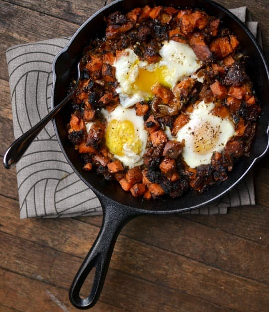 Mike's Sweet Potato Hash