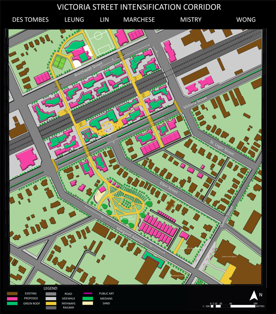 Victoria Street Intensification Corridor Site Plan