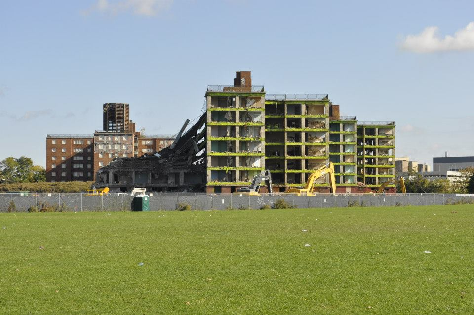 Demolishing Buffalo projects: 2013