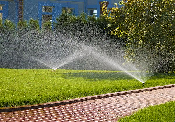 Earth First Landscapes in Katy, Texas provides a complete commercial irrigation plan suitable for your specific landscaping needs!