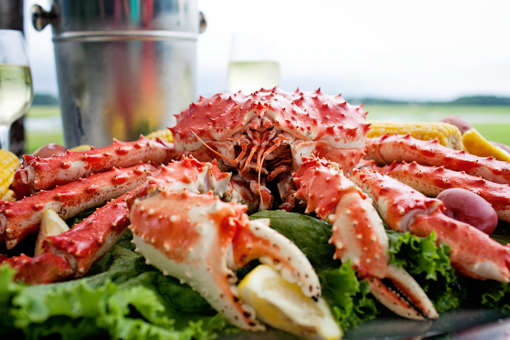 Hilton Head Whole King Crab