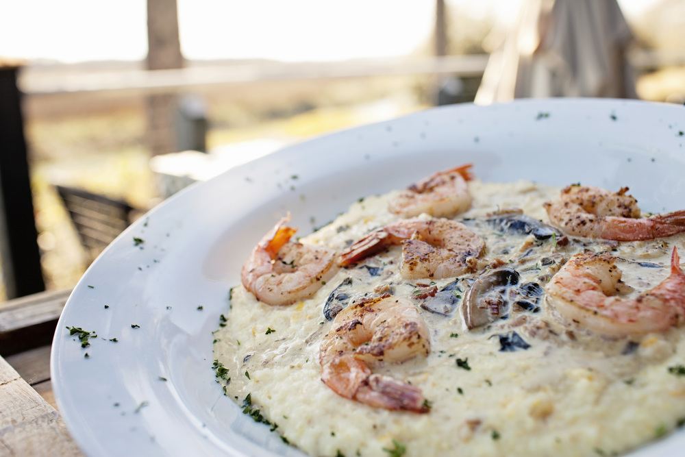 The Crazy Crab's Shrimp & Grits