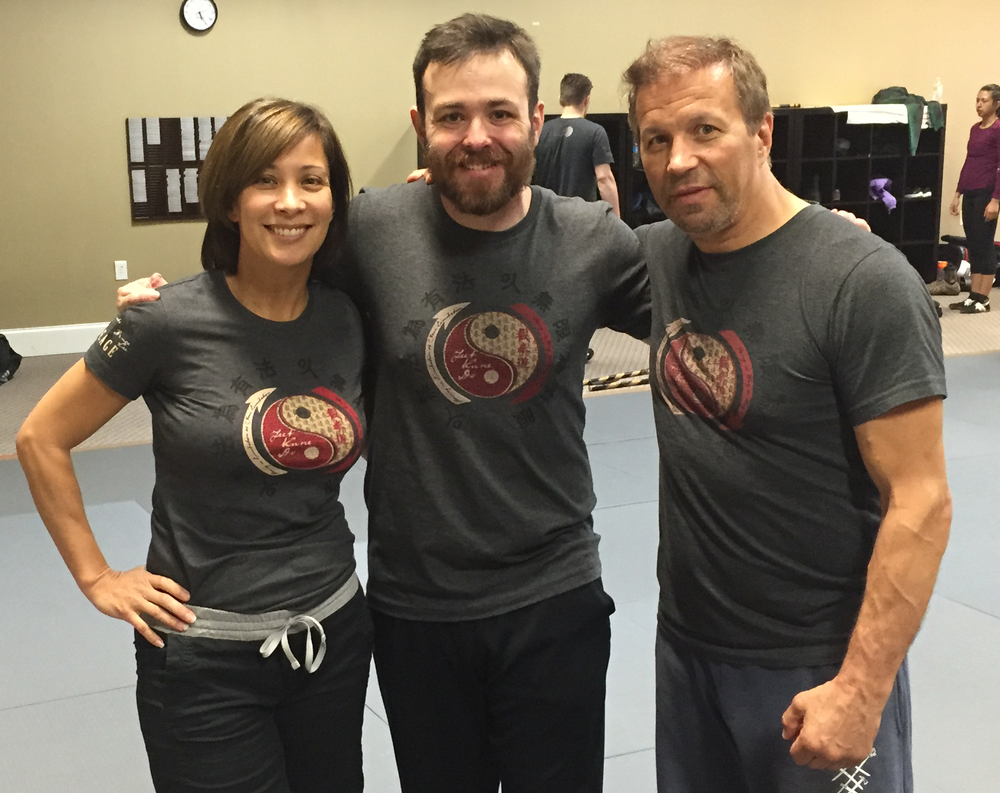 Diana Lee Inosanto, Ed, and Ron Balicki