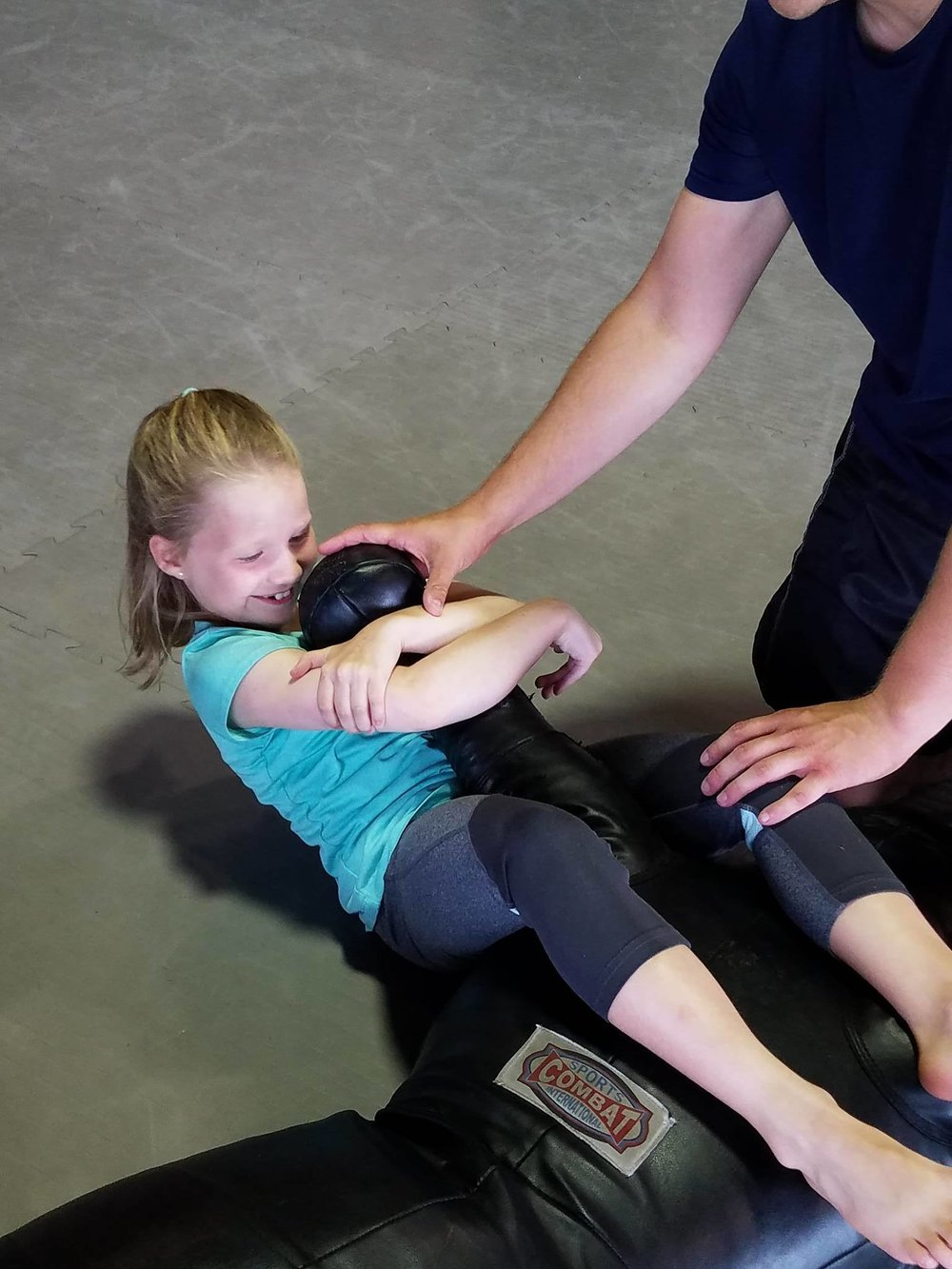 Basic Grappling - Kids will learn how to subdue a bully safely and without injury through basic positions.
