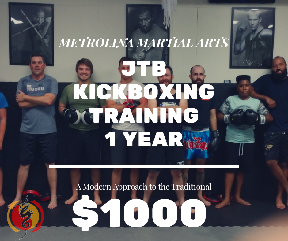 JTB Kickboxing Training - A Whole Years Worth of Jeet Kune Do and Muay Thai goodness!INCLUDES FREE BOXING GLOVES*Available to New Students Only