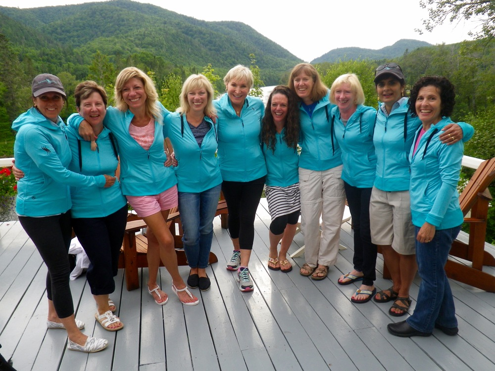 "Salmon Lodge was pleased to host the 2nd annual ""Salmon Sisters""  fishing trip. The ladies had a wonderful time and caught their share of salmon as well ! Needless to say the guides also enjoyed the week!"