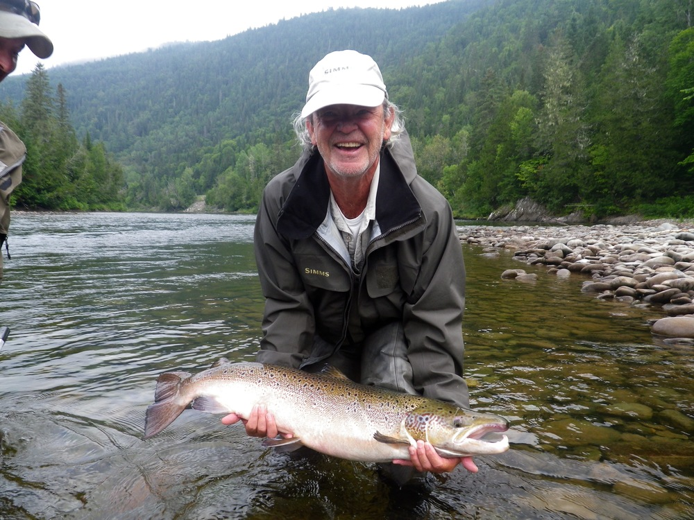 Salmon lodge fishing river report august 24th to 30th for Washington salmon fishing reports