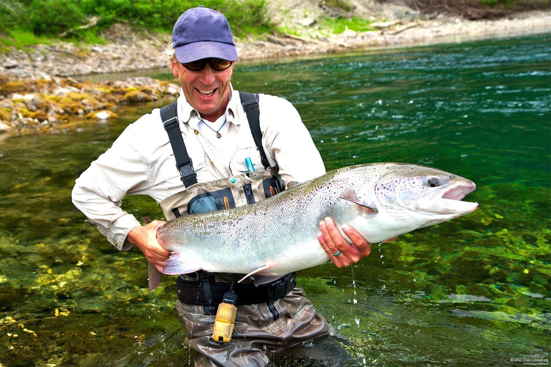 Salmon Fishing — The Salmon Lodge