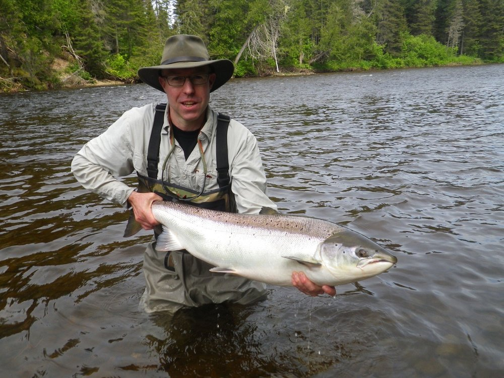 Biran Spence has been a long time guest at Salmon Lodge, he gets it done year after year, congratulations Brian!