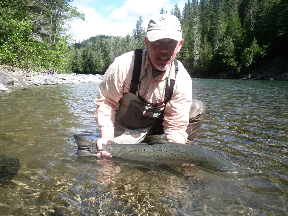 John Pearson has been a regular at Salmon Lodge for a while, He's is a great angler, Nice one John, see you next year!