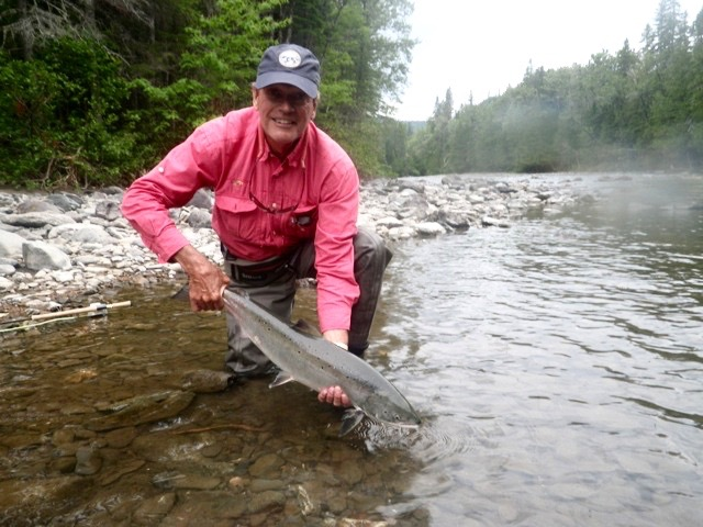 Ron Brennaman with his first of the new season, Nice one Ron, congratulations!
