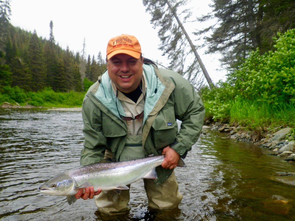 This was Tom Smith's first time to Salmon Lodge, I think we may see him again!, nice one Tom